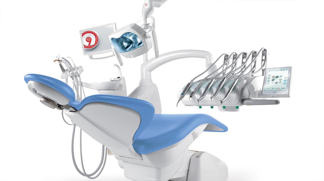 Fauteuil dentaire Anthos A7 plus