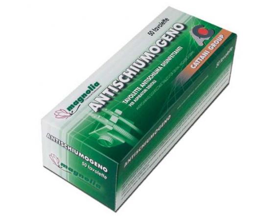 Cattani Tablettes Nettoyantes Anti-Mousse